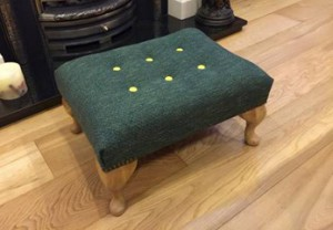 Manchester Footstool
